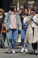 JESSIE J Out and About in New York 04/13/2017