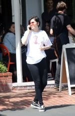 JESSIE J Out for Lunch at Fred Segal in Los Angeles 04/28/2017