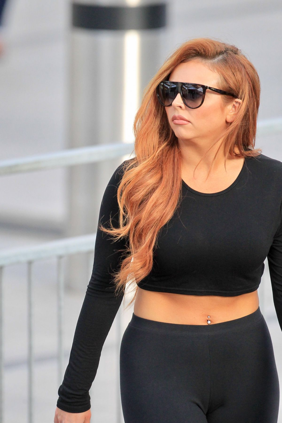 JESY NELSON at Heathrow Airport in London 04/17/2017