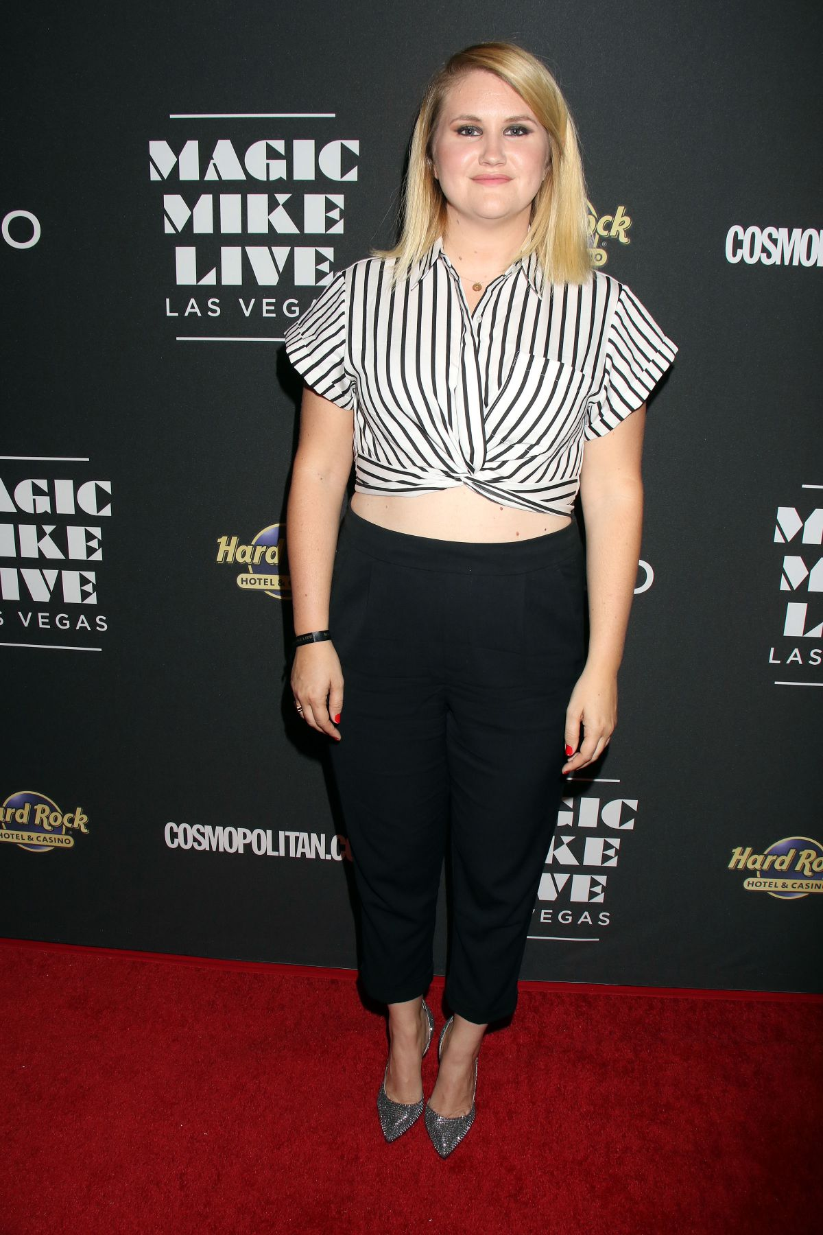 JILLIAN BELL at Magic Mike Live Las Vegas Opening Night 04/21/2017