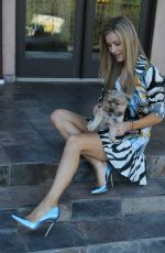 JOANNA KRUPA Out with Her Dogs in Los Angeles 04/03/2017