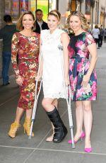 JODIE SWEETIN, CHRISTINE LAKIN and BEVERLEY MITCHELL at NBC Studios in New York 04/06/2017