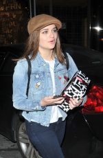 JOEY KING Arrives at Gracis Madre in West Hollywood 04/15/2017