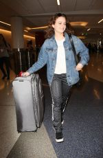 JOEY KING at LAX Airport in Los Angeles 03/31/2017