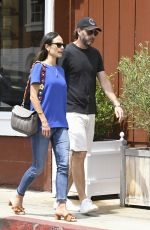 JORDANA BREWSTER Out in Los Angeles 04/26/2017