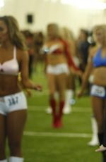 JORDYN JONES at Houston Texas Cheerleader Tryouts