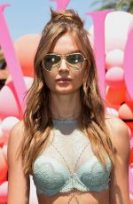 JOSEPHINE SKRIVER at VS Angel Oasis at 2017 Coachella Music Festival in Indio 04/14/2017