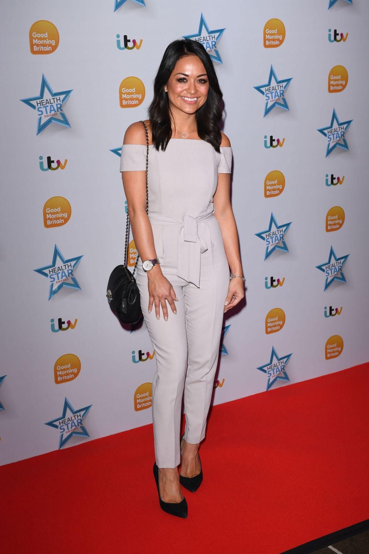JULES BREACH at Good Morning Britain Health Star Awards in London 04/24/2017