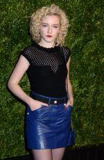 JULIA GARNER at Chanel Artists Dinner at Tribeca Film Festival in New York 04/24/2017