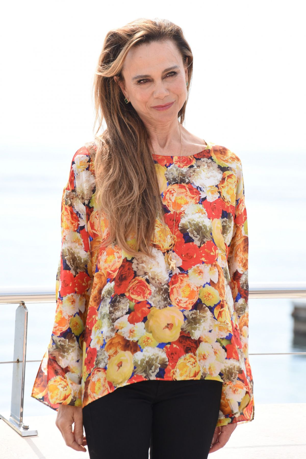 JULIA STILES and LENA OLIN at Riviera Photocall in Cannes ...