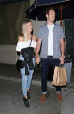 JULIANNE HOUGH at Mr Chow Restaurant in Los Angeles 04/02/2017