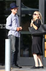 KALEY CUOCO and Karl Cook Out for Lunch in Los Angeles 04/16/2017