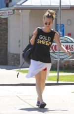 KALEY CUOCO Leaves a Gym in Beverly Hills 04/20/2017