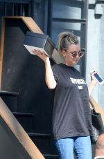 KALEY CUOCO Leaves a Studio in Los Angeles 04/01/2017