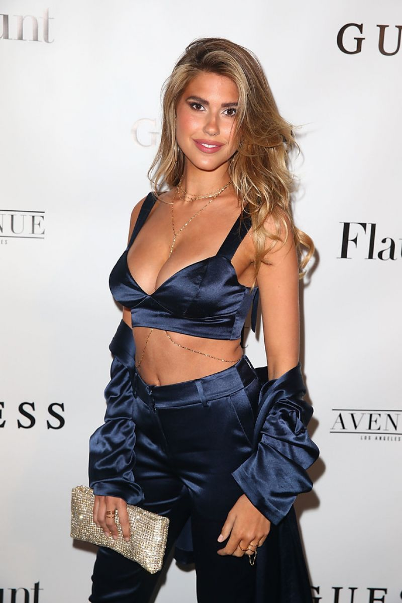 KARA DEL TORO at Flaunt and Guess Celebrate Alternative Facts Issue in Los Angeles 04/11/2017