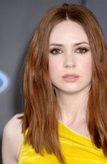 KAREN GILLAN at Guardians of the Galaxy Vol. 2 Premiere in Hollywood 04/19/2017