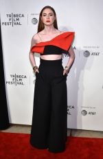 KAREN GILLAN at The Circle Premiere at 2017 Tribeca Film Festival in New York 04/26/2017