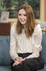 KAREN GILLAN at This Morning Show in London 04/25/2017