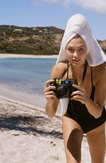 KARLIE KLOSS in Swimsuit for Express, April 2017