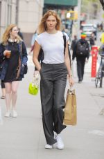 KARLIE KLOSS Out and About in New York 04/14/2017