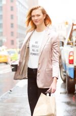 KARLIE KLOSS Out in New York 04/06/2017