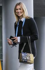 KARLIE KOSS Arrives at 2017 Ted Conference in Vancouver 04/27/2017