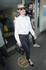 KATE BOSWORTH at LAX Airport in Los Angeles 04/07/2017