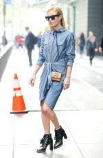 KATE BOSWORTH Leaves Her Hotel in New York 04/20/2017