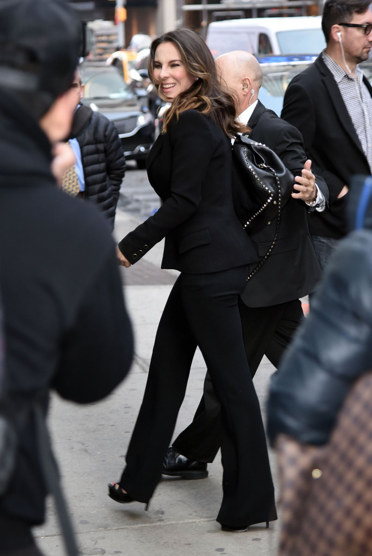 Kate del castillo arriving to appear on good morning america in nyc - 2019 year