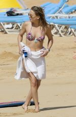 KATE HUDSON in Bikini at a Beach in Hawaii 04/04/2017