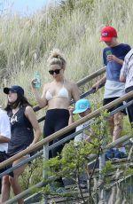 KATE HUDSON in Bikini Top on Holiday in Honolulu 04/05/2017