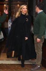 KATE HUDSON Leaves Greenwich Hotel in New York 03/31/2017