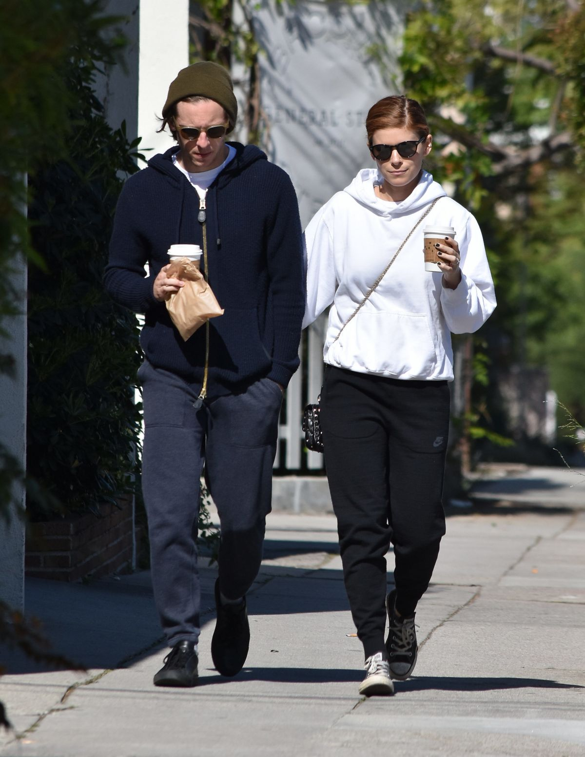 KATE MARA and Jamie Bell Out in Silver Lake 04/02/2017 ...