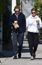KATE MARA and Jamie Bell Out in Silver Lake 04/02/2017