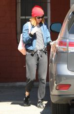 KATE MARA Leaves Ballet Bodies Class in West Hollywood 03/31/2017
