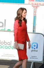 KATE MIDDLETON Arrives at Global Academy Opening in Support of Heads Together in London 04/20/2017