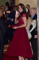 KATE MIDDLETON at 42nd Street Opening Night Royal Gala in London 04/0/42017