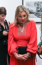 KATE MOSS Arrives at Julian Lennon