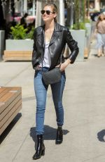 KATE UPTON in Jeans Out in Los Angeles 04/14/2017