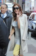 KATE WALSH Out and About in New York 04/03/2017