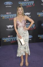 KATHERINE CASTRO at Guardians of the Galaxy Vol. 2 Premiere in Hollywood 04/19/2017