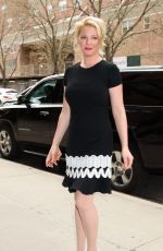 KATHERINE HEIGL Arrives at Her Hotel in New York 04/20/2017