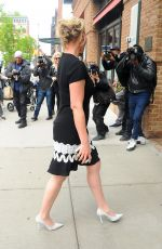 KATHERINE HEIGL Arrives at The Chew in New York 04/20/2017
