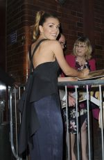 KATHERINE JENKINS Leaves Colosseum Theatre in London 04/15/2017