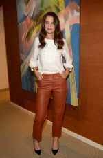 KATIE HOLMES at The Kennedys: After Camelot Press Day in New York 03/30/2017
