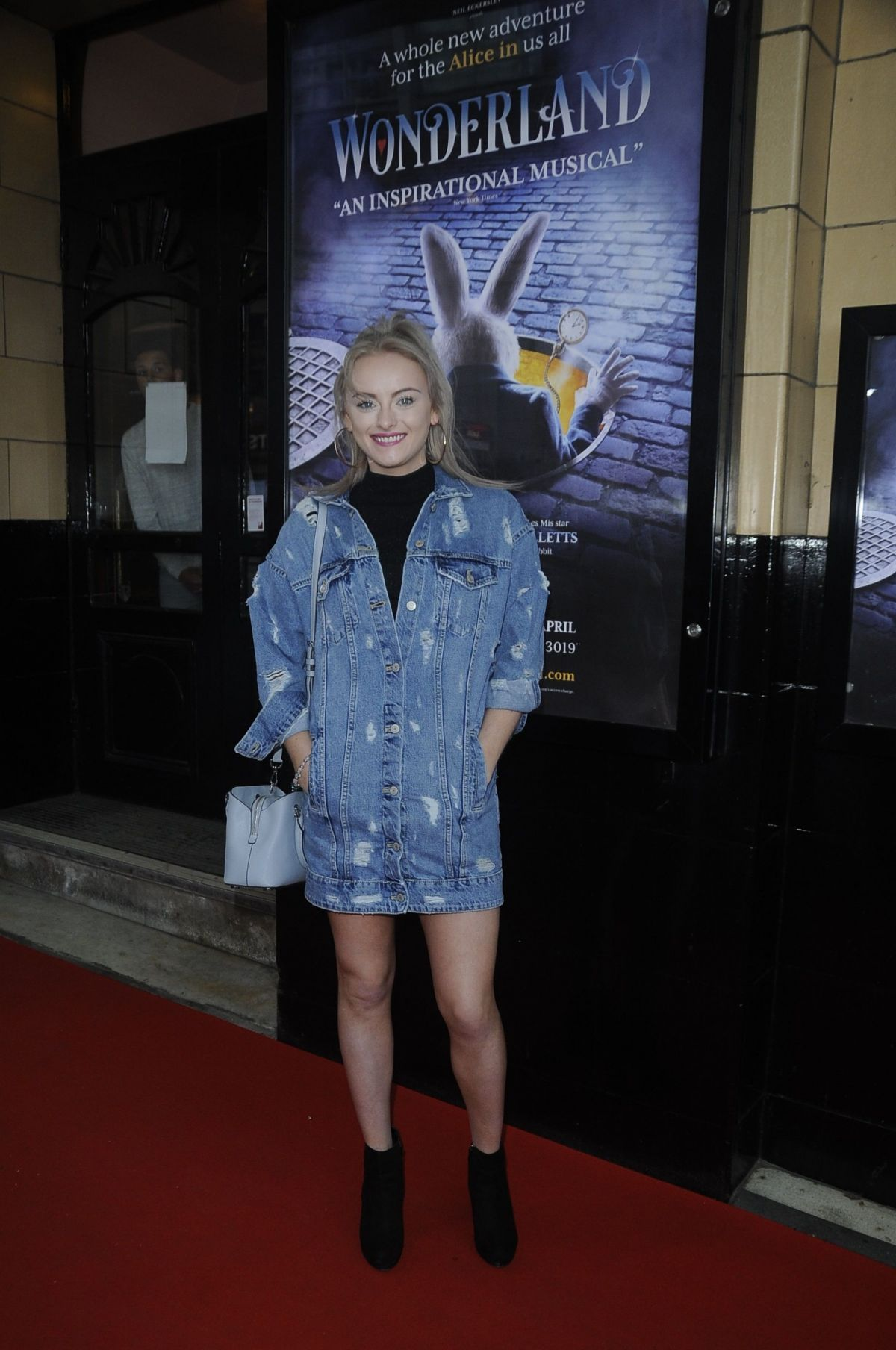 KATIE MCGLYNN at Palace Theatre in Manchester 04/24/2017