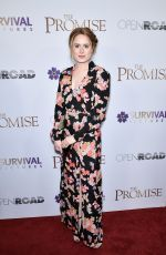 KATIE PAXTON at The Promise Screening in New York 04/18/2017