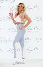 KATIE PRICE at Nutrition Together with NRGFUEL at The Worx in Parson