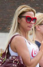 KATIE PRICE Out and About in Sussex 04/14/2017