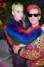 KATY PERRY and Jeremy Scott at Moschino Candy Crush Party at Coachella Festival in Indio 04/15/2017